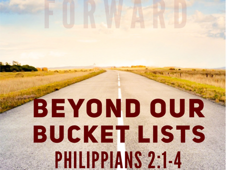 Beyond our Bucket Lists