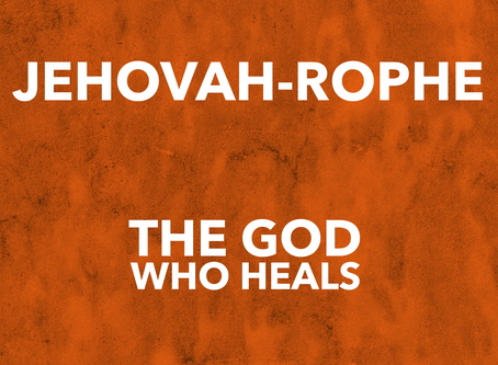 Our God Heals
