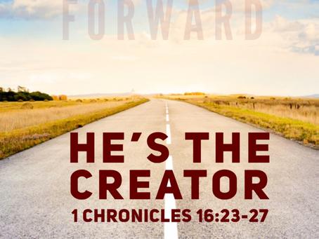 He's the Creator