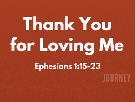 """""""Thank You for Loving Me"""""""