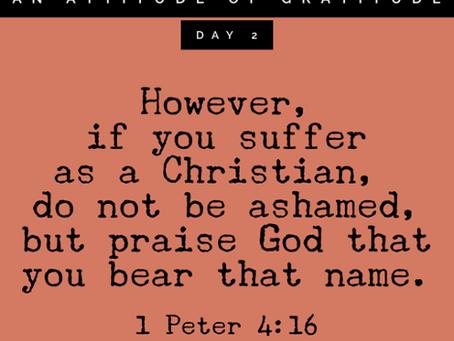 Persecuted but Praising