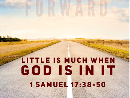 Little is Much When God Is in It