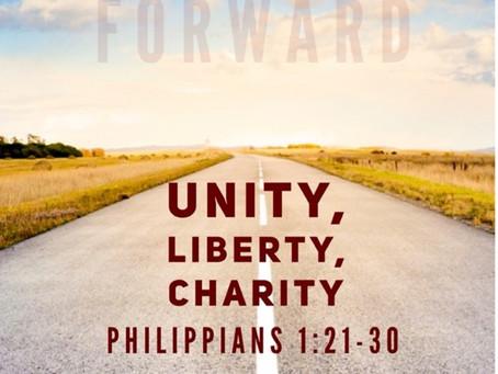 Unity, Liberty, Charity