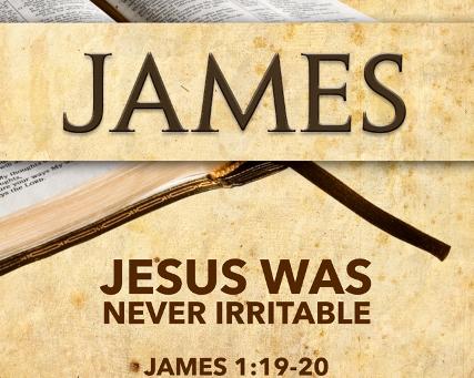 Jesus Was Never Irritable?