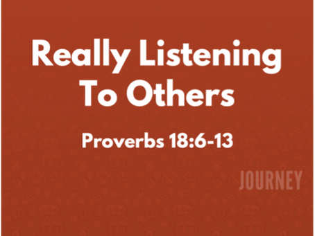 Really Listening to Others