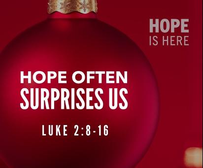 Hope Often Surprises Us