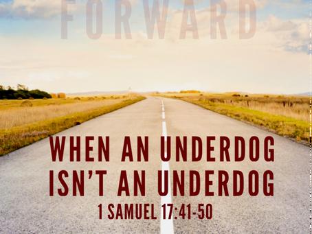 When an Underdog Isn't an Underdog