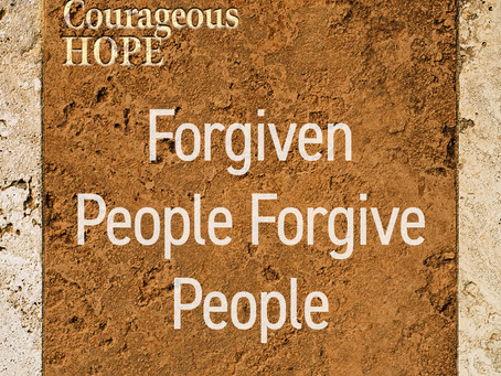 Forgiven People Forgive People