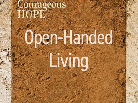 Open-Handed Living
