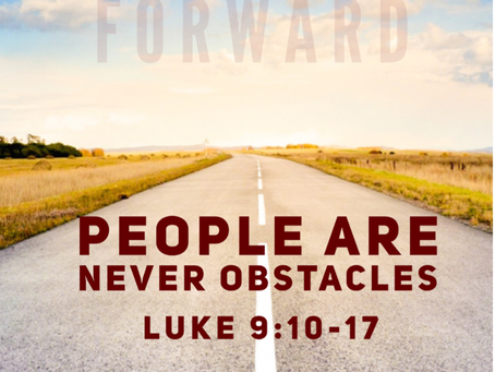 People are Never Obstacles