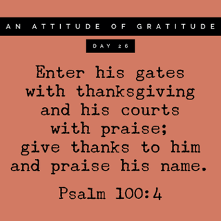 Grateful for a Day of Thanks