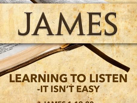 Learning to Listen - It Isn't Easy