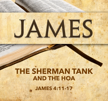The Sherman Tank and the HOA