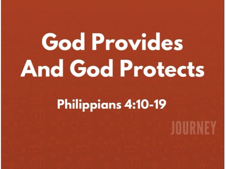 God Provides and God Protects