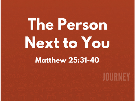 The Person Next to You