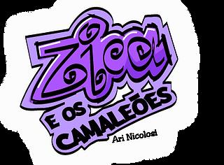 Site oficial de Zica e os Camaleões