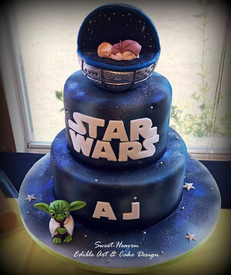 Wedding Star Wars Cake