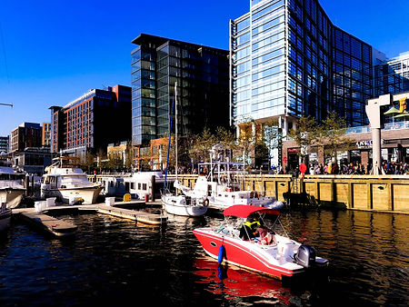 The District Wharf is the first major de
