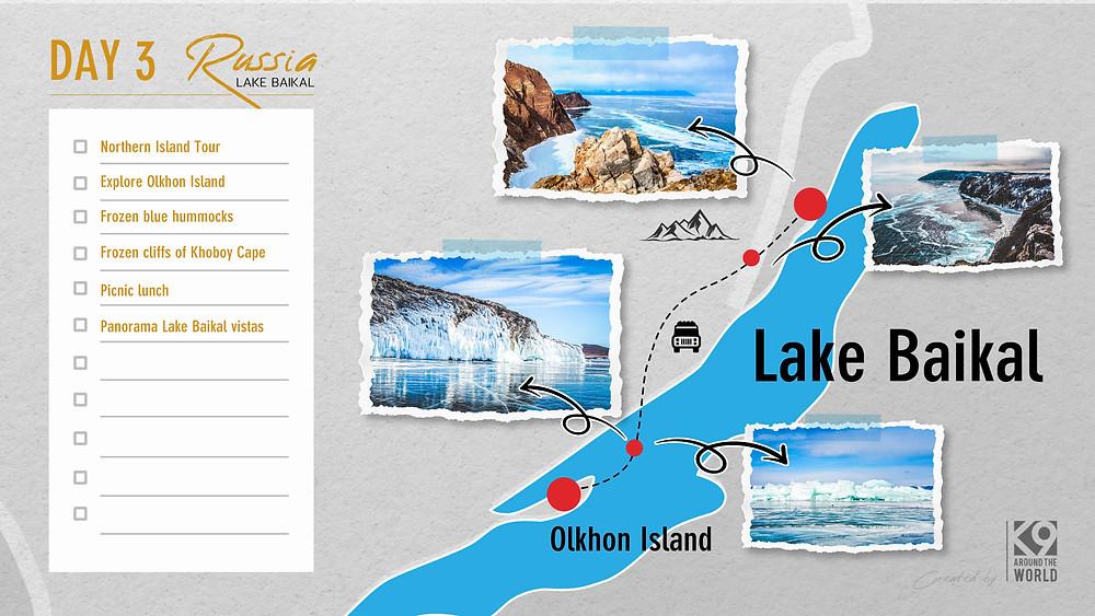 แพลนเที่ยว ทะเลสาบไบคาล รัสเซีย (Irkutsk - Lake Baikal)