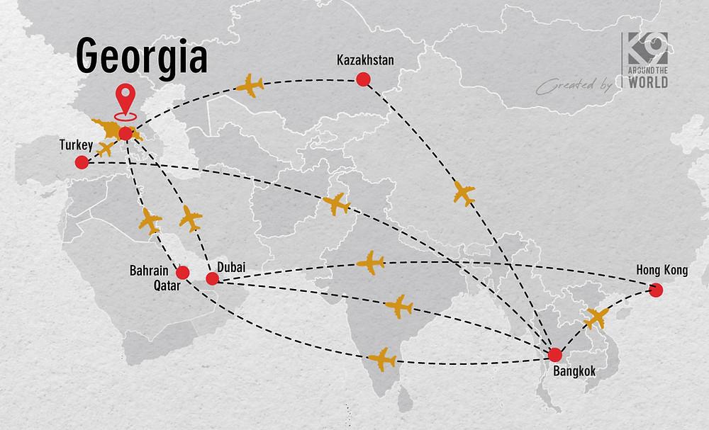 เที่ยวจอร์เจีย (Georgia - Mestia - Ushguli - Tbilisi)