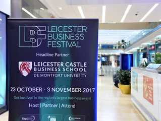 Business Festival events selling out with one week to go