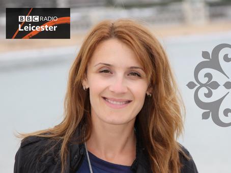 Snizhana Yesaulenko on BBC Radio Leicester