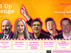 Wolverhampton Stand Up Comedy Challenge is back with new lambs …to the s-laughter