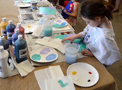 Daily Sat. Morning Children's Painting with Robin Ingle ages 6-8 Supplies Inc.