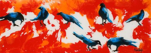 Ravens by R. Ingle