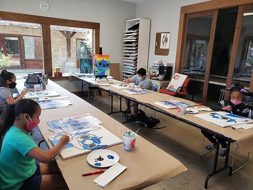 4 Day Art Camps ages 6-9 All Supplies Inc.