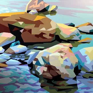 Rock Reflections by Steve Danner