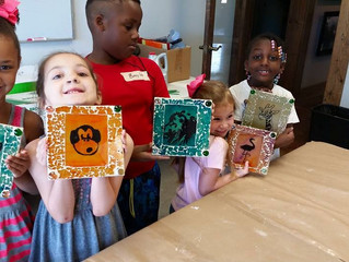 First Week Summer Art Camp