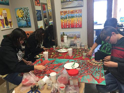 14 wks Arts Program partnered with Village Tech