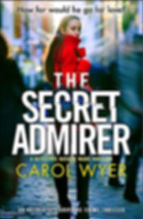 The Secret Admirer, the latest in Carol Wyer's Detective Natalie Ward series. Carol is interviewed by fellow author Barbara Copperthwaite about the writing process.