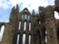 Whitby's abbey