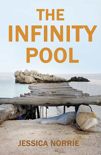 JESSICA NORRIE author of THE INFINITY POOL is interviewed by Barbara Copperthwaite