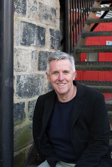 Debut crime thriller author Trevor Wood