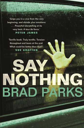 Say Nothing author Brad Parks is interviewed by Barbara Copperthwaite