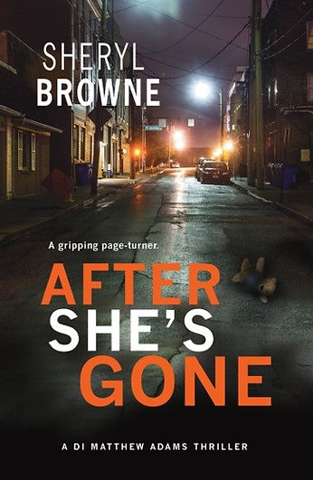 After She's Gone author Sheryle Browne is interviewed by Barbara Copperthwaite