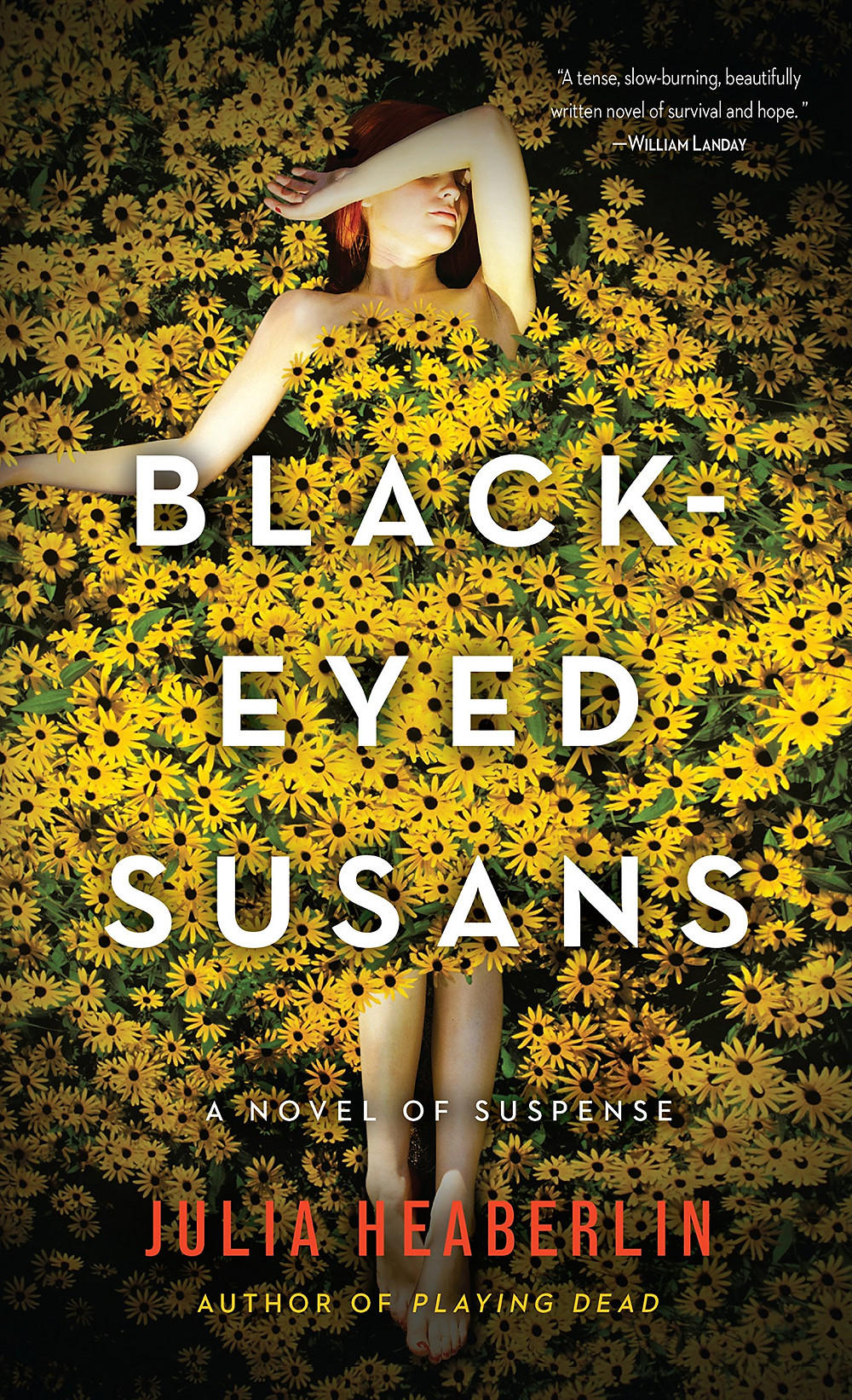 Black Eyed Susans, by Julia Heaberlin. Review by Barbara Copperthwaite