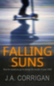 JA CORRIGAN, author of FALLING SUNS, is interviewed by Barbara Copperthwaite