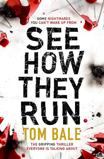 Author Tom Bale is interviewed by Barbara Copperthwaite