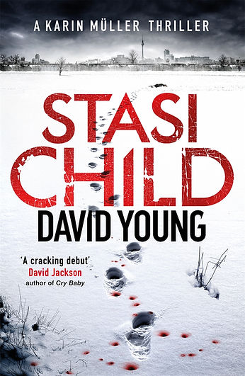 Stasi Child author DAVID YOUNG is interviewed by Barbara Copperthwaite