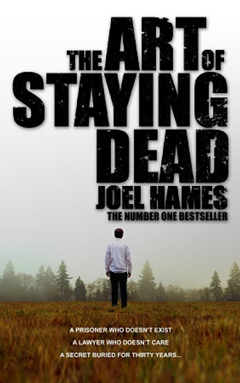 The Art of Staying Dead author Joel Hames is interviewed by Barbara Copperthwaite