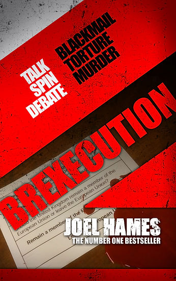 Brexecution author Joel Hames is interviewed by Barbara Copperthwaite