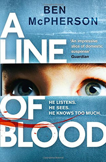 A Line of Blood author Ben McPherson is interviewed by Barbara Copperthwaite
