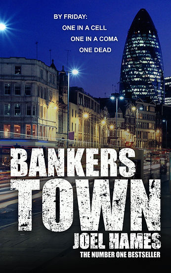 Bankers Town author Joel Hames is interviewed by Barbara Copperthwaite