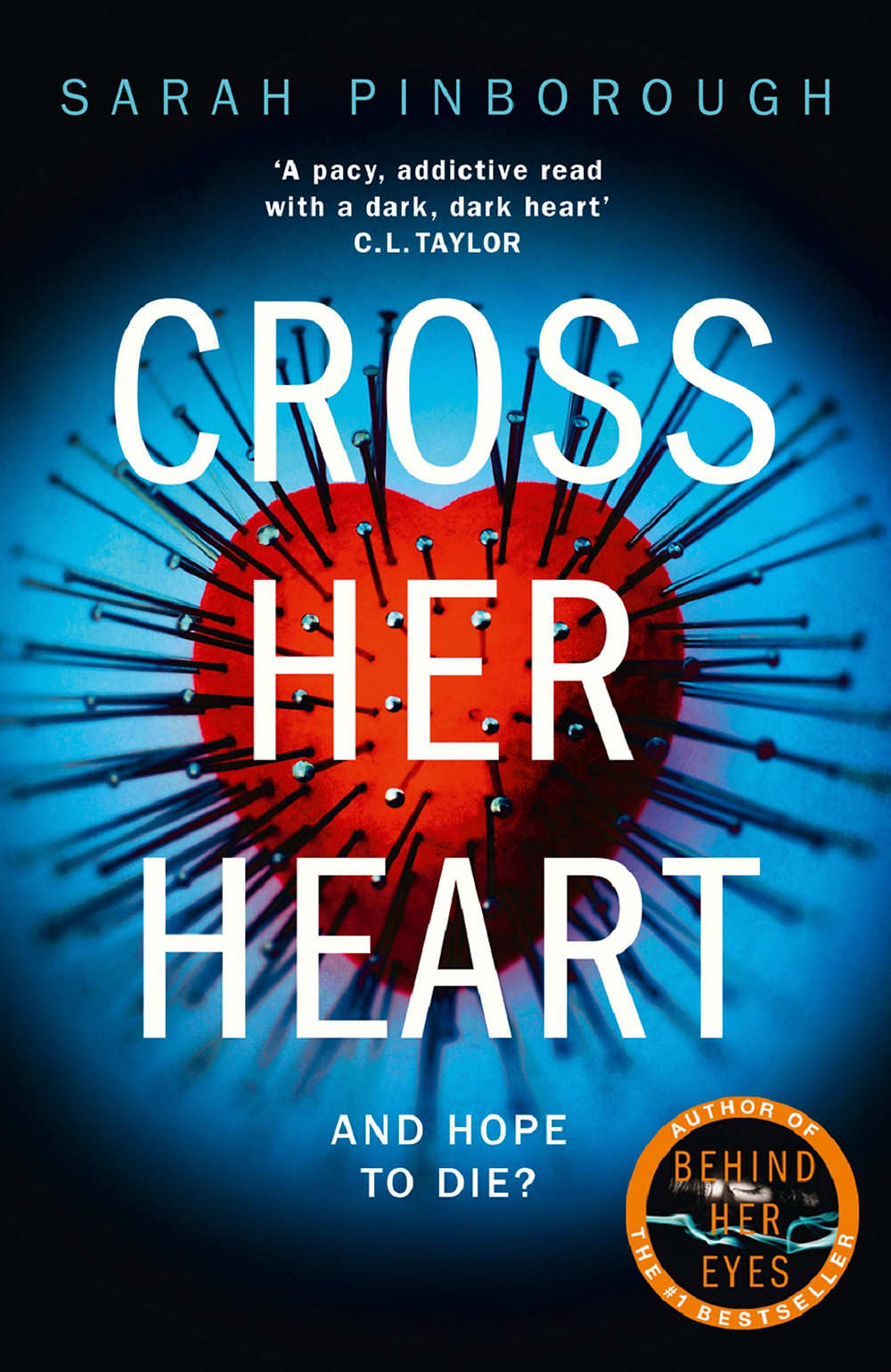 Cross Her Heart, by Sarah Pinborough. Review by Barbara Copperthwaite