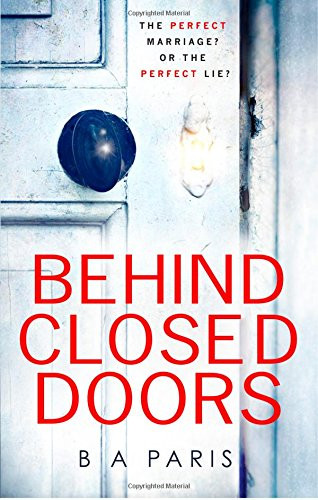 Behind Closed Doors, BA Paris. Review by Barbara Copperthwaite
