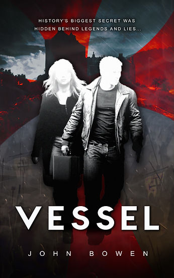 VESSEL author JOHN BOWEN is interviewed by Barbara Copperthwaite